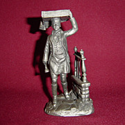 The Muffin Man from Franklin Mint Street Seller of Old London Town