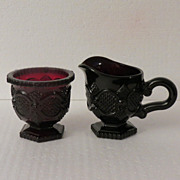 Avon Cape Cod Sugar and Creamer Set