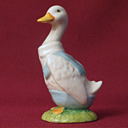 Beswick Beatrix Potter Mr. Drake Puddle Duck