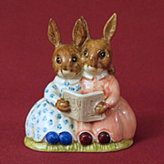 Royal Doulton Bunnykins Storytime Figurine