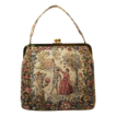 Vintage Tapestry Handbag Extra Large Envelope Style by JR