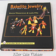 Bakelite Jewelry Good Better Best by Donna Wassertrom and Lester Pina Reference Book