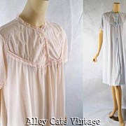 Vintage 1960s 60s Nightgowns Pink and Blue by Archdale NWOT Sz L