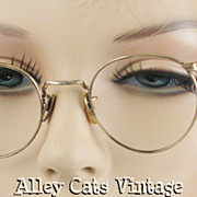 Vintage 1940s Marshwood or P3 12kgf American Optical Eyeglasses
