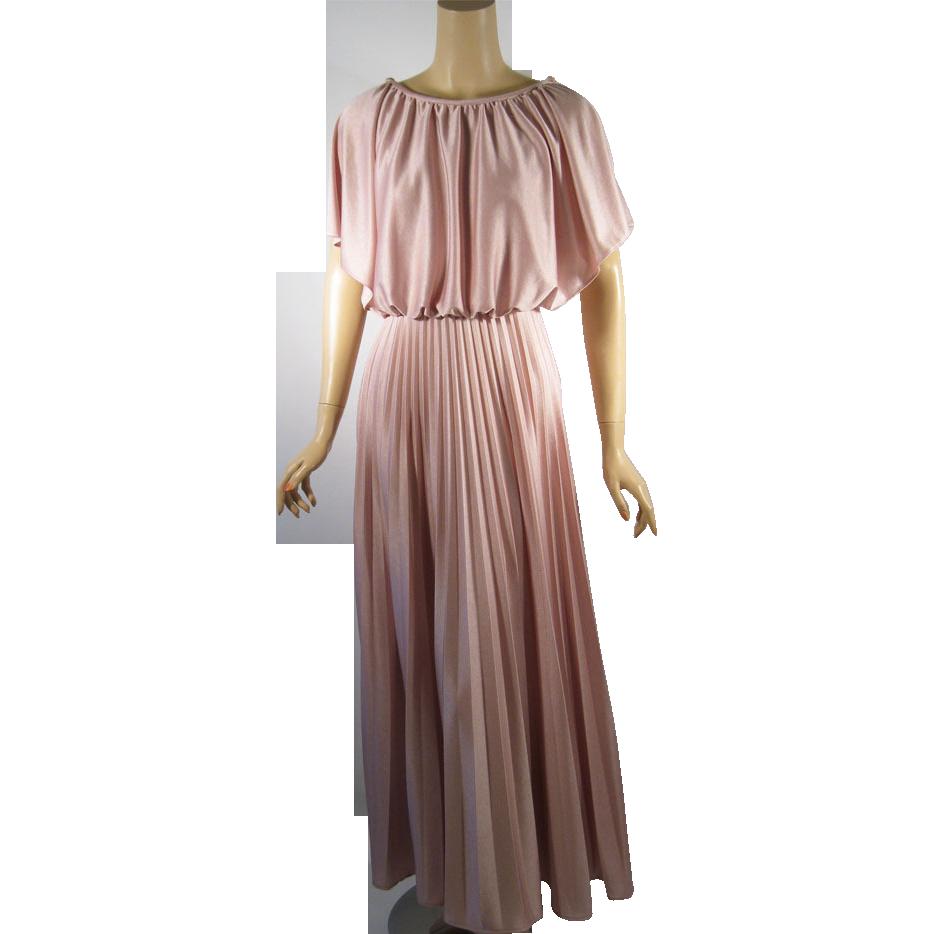 1970s Formal Dress Vintage 1970s formal gown