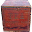 Fabulous Early Dovetailed Montgomery Ward Tea Box