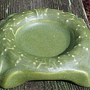 SALE Matte Glaze Rookwood Advertising Ashtray