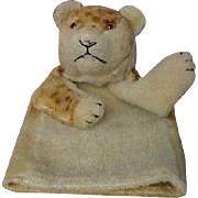 Steiff Mohair Lion Cub Hand Puppet