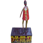 Louis Marx Somstepa Coon Jigger Wind Up Tin Toy