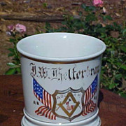 Patriotic Occupational Fraternal Shaving Mug