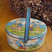 Tindeco Peter Rabbit On Parade Tin