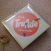 Pam Lighted TruAde Advertising Clock
