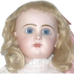19&quot; Tete Jumeau 8 Blue Paper Weight Eyes  Mama/Papa Strings