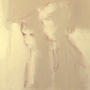 American Art - Walter Prochownik: Siblings - Vintage Oil Painting