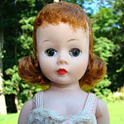 C1958 Cissette Doll Madame Alexander Red Hair in Chemise ex Kathy Hipp