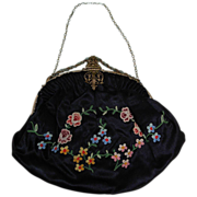SALE Antique Victorian Ladies Handbag Purse