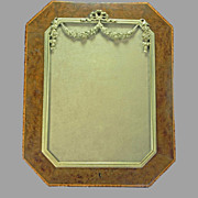 SALE Wood Marquetry Picture Frame