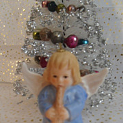 Vintage 1976 Goebel W. Germany Angel Bell Ornament