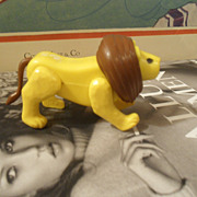 Vintage 1970's Fisher Price LION Circus Animal