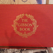 1906 Antique RARE Collectible Gibson Book #2 by Charles Dana Gibson