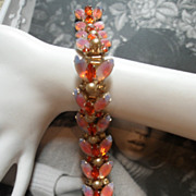Glamorous Signed KRAMER Bracelet