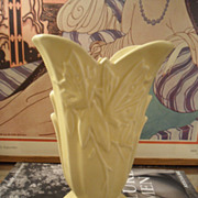 Vintage Nelson McCoy Butterfly Vase Roseville Ohio
