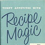 Recipe Magic Using Heinz Strained & Junior Foods Booklet