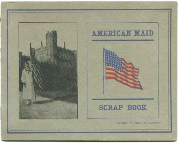 WCTU American Maid Scrap Book Women's Christian Temperance Union