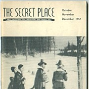 1957 Baptist Daily Devotions Booklet The Secret Place