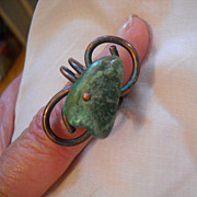 Copper & Turquoise Ring