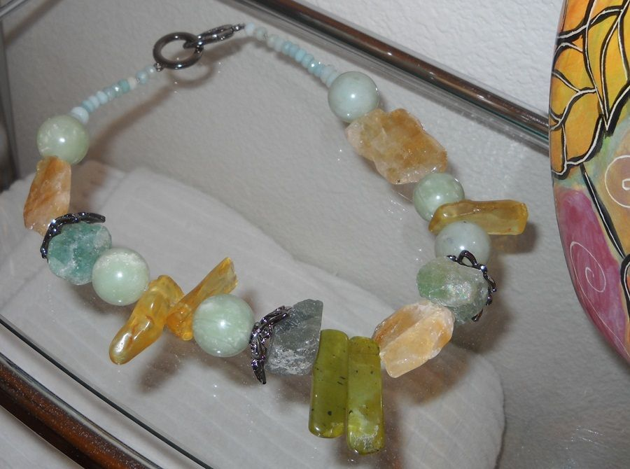 Old Stones Necklace