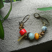 Favorite Colors Gemstone & Chain Bracelet