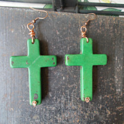 Big, Bold Crosses Earrings