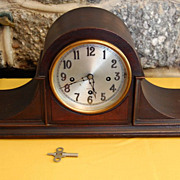 "Herschede ""Grand Prize"" Mahogany Westminster  Mantle Clock"