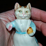 Vintage Beswick Beatrix Potter's &quot;Tabitha Twitchett&quot; Figurine