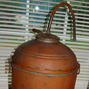 Early 1900's Copper Moonshine Whiskey Still