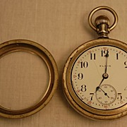 Early 1900's  Elgin Seven Jewel Silveroid Pocket Watch