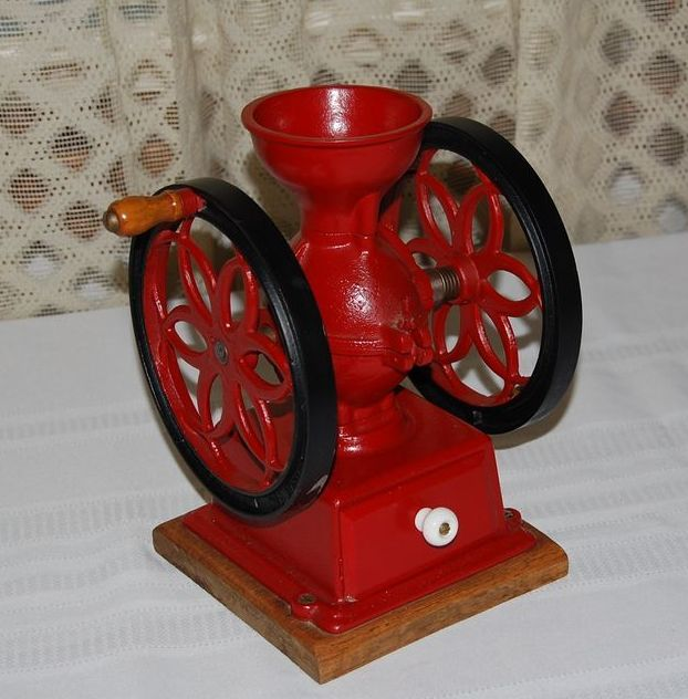 Early 1900's John Wright's Wrightsville, Pa. Cast Iron Coffee Mill