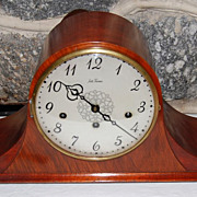 Vintage Seth Thomas Mahogany Chiming Mantle Clock