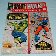 Marvel Comics Giant-Hulk-Man Tales to Astonish #67