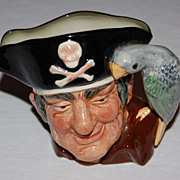 "SOLD Vintage Royal Doulton ""Long John Silver"" Toby Mug"