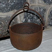 Early 1900's Bell Systems Cast Iron Smelting Pot