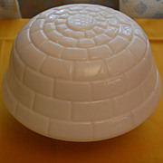 Vintage White Opal Turtle Top Decorative Ceiling Light Shade