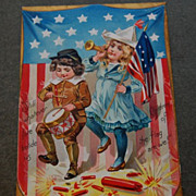 Early 1900's Tuck's &quot;Independence Days&quot; No. 109 Post Card