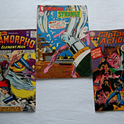 Superman DC Comics Captain Action, Metamorpho, and Deadman