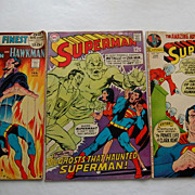 Vintage Superman DC National Comic Books