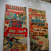 Vintage 12 Cent - 15 Cent Charlton Hot Rod Comics