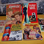 Vintage Television Series Based Comic Books