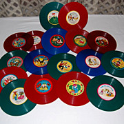 Vintage 1950's Classic Songs Childrens Records
