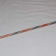 Early 1900's Single Shot Cap Toy Carnival Cane with Cast Iron Base